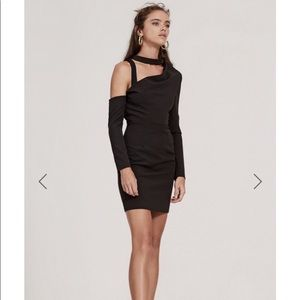 Finders Keepers the message mini dress black NWT